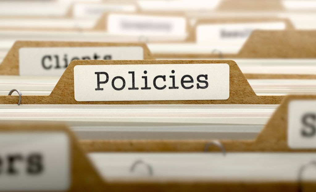 Picture of policies